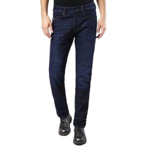 "Diesel Buster 30"" Short Leg Jeans in Dark Wash"