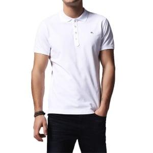 Diesel T-Heal Polo Shirt in White