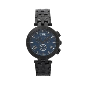 Versus Watches Watch Logo Metal In Black