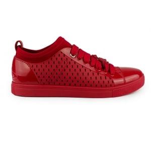 Vivienne Westwood Orb Sneaker Trainers in Red