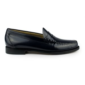Weejuns Larson Moc Shoes in Navy