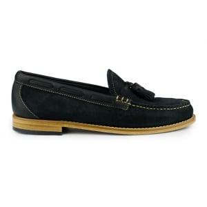 Weejuns Larkin Reverso Shoes in Navy