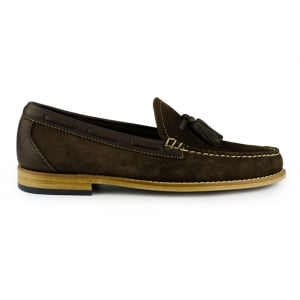 Weejuns Larkin Reverso Shoes in Dark Brown