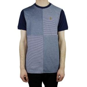 Luke Roper Boozy Baz T-Shirt in Navy