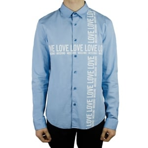 Moschino Love Moschino Shirt in Baby Blue