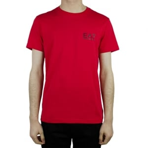 Ea7 Core Tee T-Shirt in Red