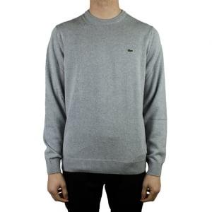 Lacoste Crew Neck Knitwear in Grey