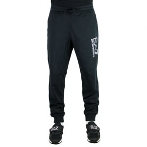 Ea7 Lined Jogging Bottoms in Black