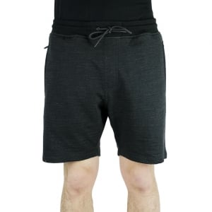 Luke Roper Spaced Pimlico Shorts in Black