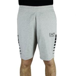 Ea7 Bermuda 7 Lines Shorts in Grey