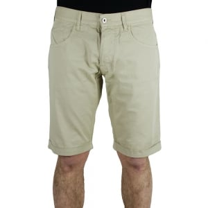 Armani Jeans Woven Shorts in Beige