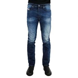 "Diesel Buster 32"" Regular Leg Jeans in Mid Wash"