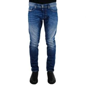 """Diesel Tepphar 2 32"""" Regular Leg Jeans in Light Wash"""