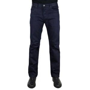 "Armani Jeans J21 Regular Fit 30"" Short Leg Jeans in Dark Wash"