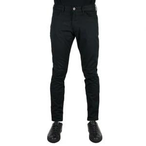 """Armani Jeans J06 Slim 30"""" Short Leg Jeans in Black"""