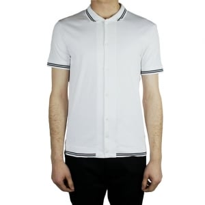 Armani Jeans Core Polo Shirt in White