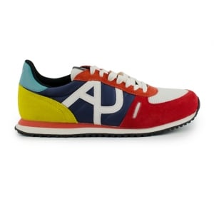 Armani Jeans AJ Multicoloured Trainers in Multi Colour
