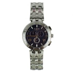 Versus Watches Logo Metal Watch in Silver