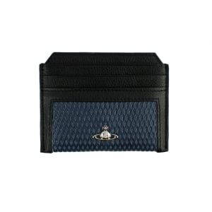 Vivienne Westwood Cross Cardholder Wallet in Blue
