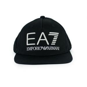 Ea7 Hats Big Logo Cap in Black