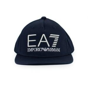 Ea7 Hats Big Logo Cap in Navy