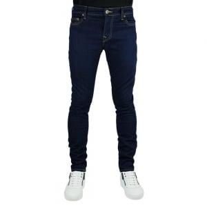 "True Religion Tony No Flap 30"" Short Leg Jeans in Dark Wash"