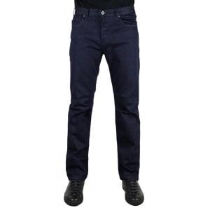 "Armani Jeans J21 32"" Regular Leg Jeans in Dark Wash"