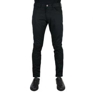 """Armani Jeans J06 Slim 32"""" Regular Leg Jeans in Black"""