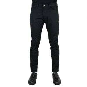 "Armani Jeans J06 Slim 34"" Long Leg Jeans in Black"