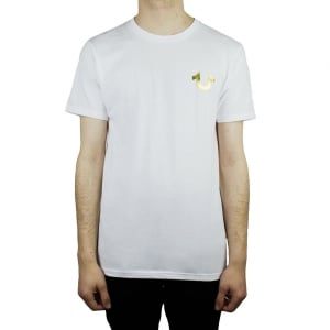 True Religion Gold Buddha T-Shirt in White