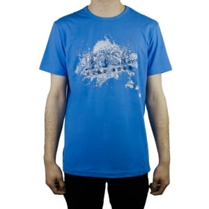 Boss Green Tee 8 T-Shirt in Blue