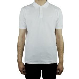 Hugo Dewlett Polo Top in White