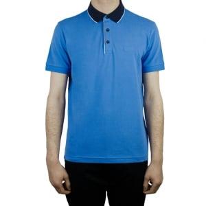 Boss Green C-Varenna Polo Shirt in Mid Blue