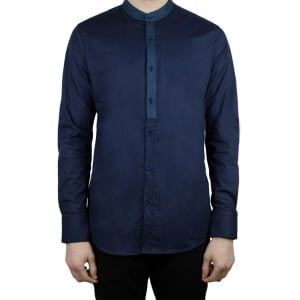 Hamaki-Ho Coreana Shirt in Navy