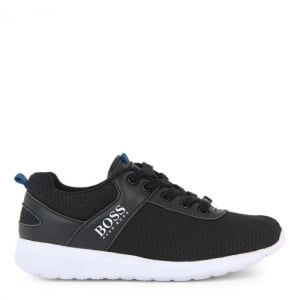 Boss Kids Gym Trainers in Black
