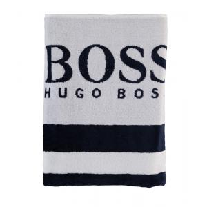 Boss Kids Bath Towel in White