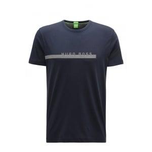 Boss Green M-Tee T-Shirt in Navy