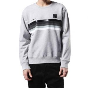 Diesel S-Joe-Na Sweatshirt in Grey