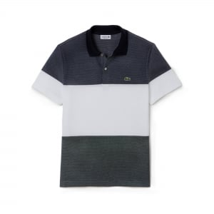 Lacoste Big Panel Polo Shirt in Navy