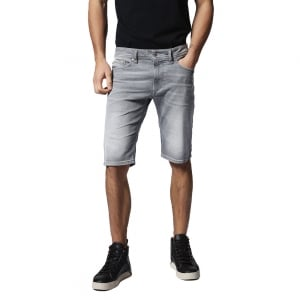 Diesel Denim Shorts Thashort in Grey