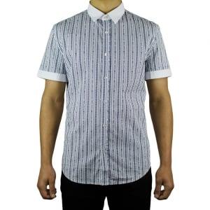 Moschino Lined Moschino Shirt in White