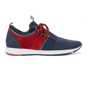 Hugo Hybrid Runn Trainers in Blue