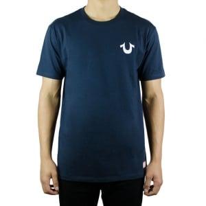 True Religion Traditional Logo T-Shirt in Navy