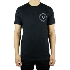 True Religion UK Crafted With Pride T-Shirt in Black