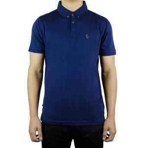 Luke Roper Stan Poole Polo Shirt in Navy
