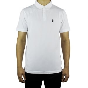 Luke Roper Stan Poole Polo Shirt in White