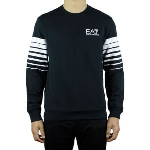 Ea7 Core Sweatshirt in Black