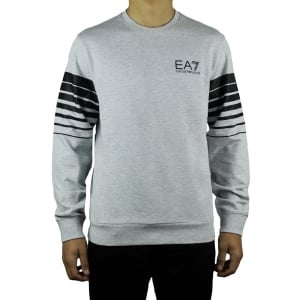 Ea7 Core Sweatshirt in Grey