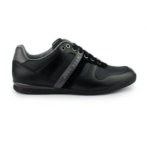 Boss Green Arkansas Trainers in Black