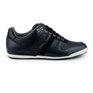 Boss Green Arkansas Trainers in Navy